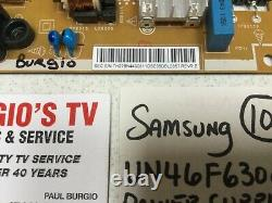 SAMSUNG UN46F6300AF Power Supply BN44-00611D Works Great SEE PICTURES