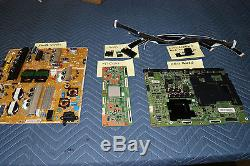 Samsung UN65HU7250 UH02 Board Set Power Supply, Main, T-Con, LVDS, WiFi, Control